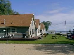 cabin cottage stratford midge for lake co vacation rent watch houghton prudenville cottages mi
